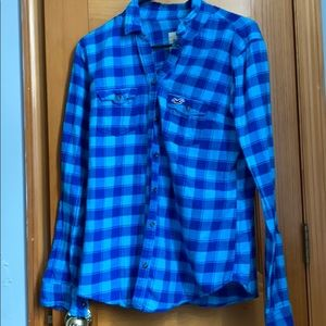 Tops - Hollister flannel size large